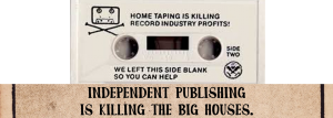 Independent publishing is killing the industry