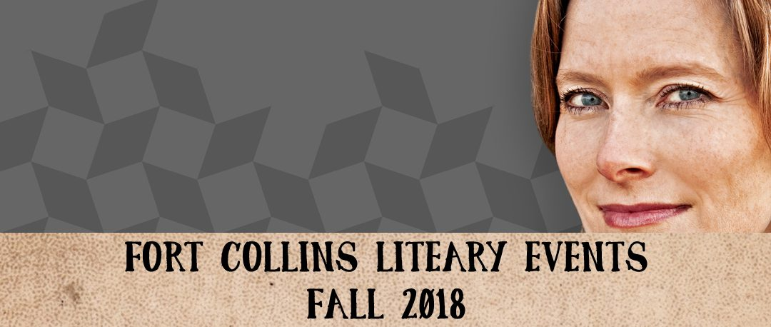 Fort Collins Literary Events – Fall 2018