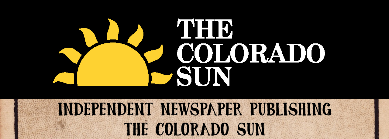 Independent newspaper publishing - The Colorado Sun logo
